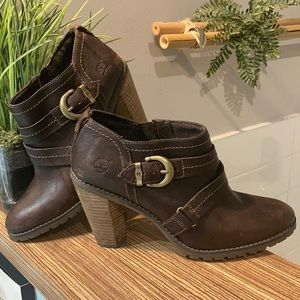 TIMBERLAND EARTHKEEPERS leather ankle boots